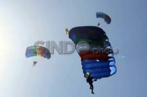 42 Negara Siap Ikuti World Military Parachuting Championship