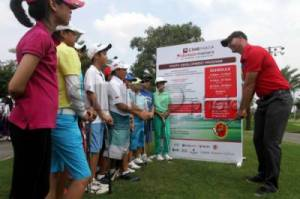 Coaching Clinic Golf Bersama Aaron Cole