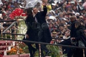 Obama Tamu Utama Parade Militer Hari Republik India