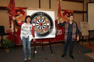 CEO MNC Group Hary Tanoesoedibjo Buka Kick-off Meeting MNC Life
