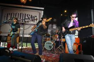 Kolaborasi Gugun Blues Shelter dan Baim