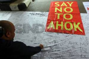Petisi Say No To Ahok