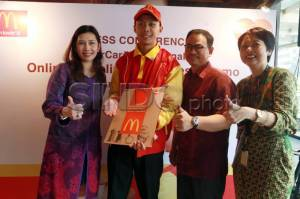 McDonald Luncurkan McDelivery Cashless Promo