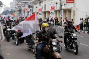 Bikers Brotherhood Konvoi Bawa Bendera Peserta KAA