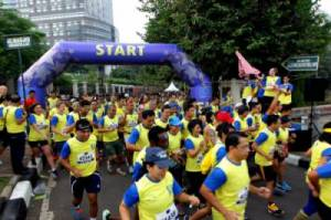 Ribuan Peserta Ikuti Lomba Lari UE on the Move 5K
