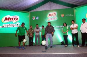 Menpora Buka Kick Off MILO Football Championship 2017