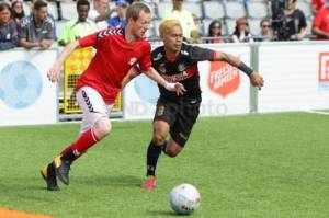 Indonesia Bekuk Denmark di Babak Second Stage Homeless World Cup 2017