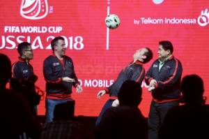 Peluncuran Telkomsel Licensed Mobile Broadcaster World Cup 2018