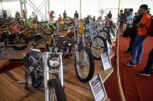 Ratusan Motor Modifikasi Ramaikan Suryanation Motorland Battle
