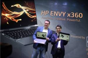 HP Luncurkan Notebook ENVY x360