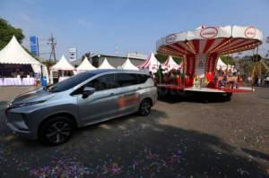 Mitsubishi Xpander Tons of Real Happiness Hadir di Surabaya