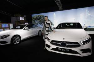 The New Mercedes-Benz A-Class dan CLS Memukau di Star Arena