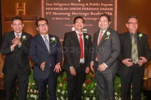 Menteng Heritage Realty Laksanakan Public Expose IPO