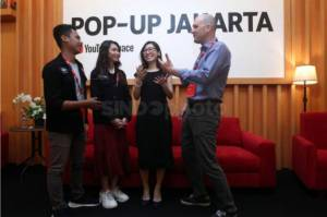 YouTube Pop-Up Space Dongkrak Pengembangan Kreator di Indonesia
