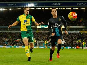 Arsenal Ditahan Imbang Norwich City