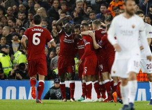 Liverpool Libas AS Roma 5-2