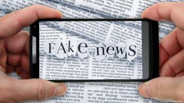 Schoolkids phones are targets for fake news