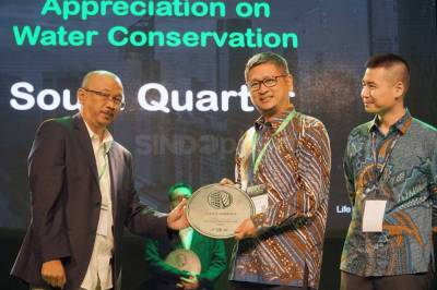 South Quarter Raih Penghargaan Appreciation on Water Conservation