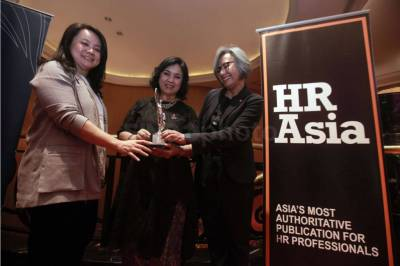 Bank DBS Indonesia Raih HR Asia Best Companies To Work in Asia