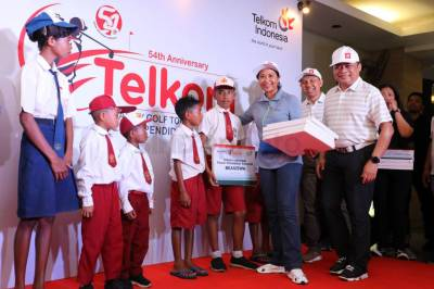 Telkom Gelar Charity Golf Tournament 2019 Peduli Pendidikan Nasional