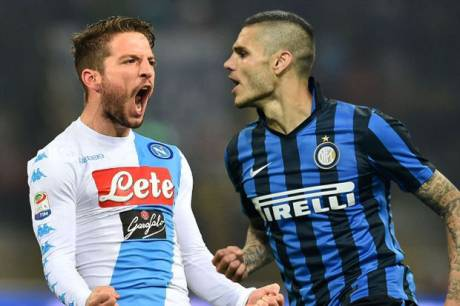 Preview Napoli vs Inter Milan: Berebut Jalur Juara!