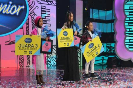 Ungguli Deven, Anneth Juarai Indonesian Idol Junior 2018