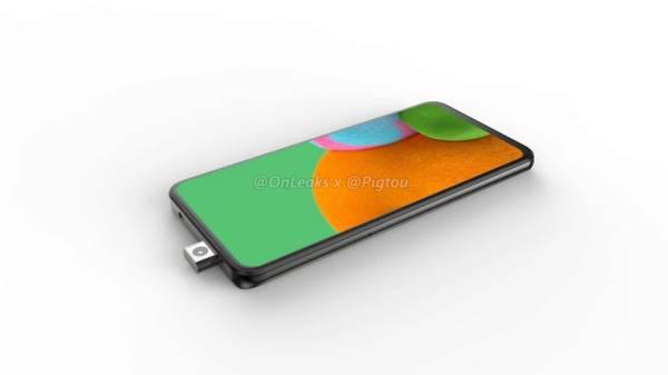Render Ungkap Samsung Siapkan Ponsel dengan Kamera Pop-up