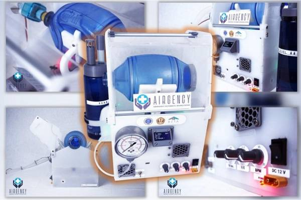 Lolos Uji BPFK, Ventilator Ambu-Bag Airgency ITB Segera Jalani Uji Klinis