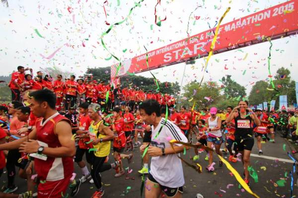 Borobudur International 10K dan Half Marathon 2015