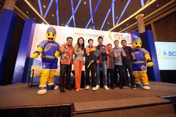 310 Pebulutangkis Akan Ramaikan BCA Indonesia Open Superseries Premier 2017