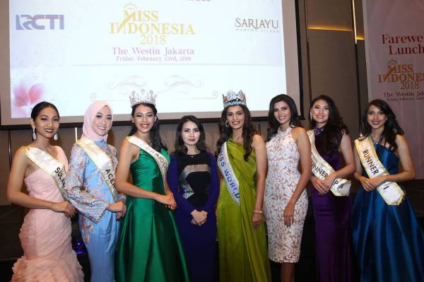 Farewell Lunch Miss Indonesia 2018