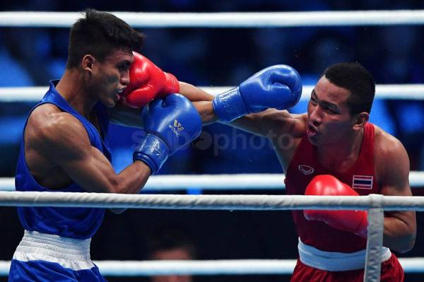 Petinju Indonesia Farrand Papendang Gagal ke Final 60Kg SEA Games 2019