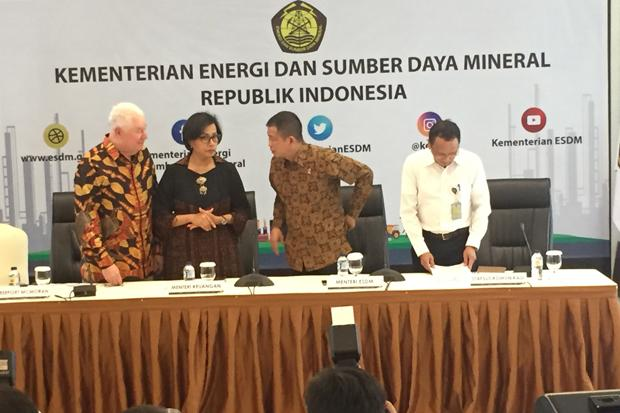 Freeport Give Up on Terms of Indonesia