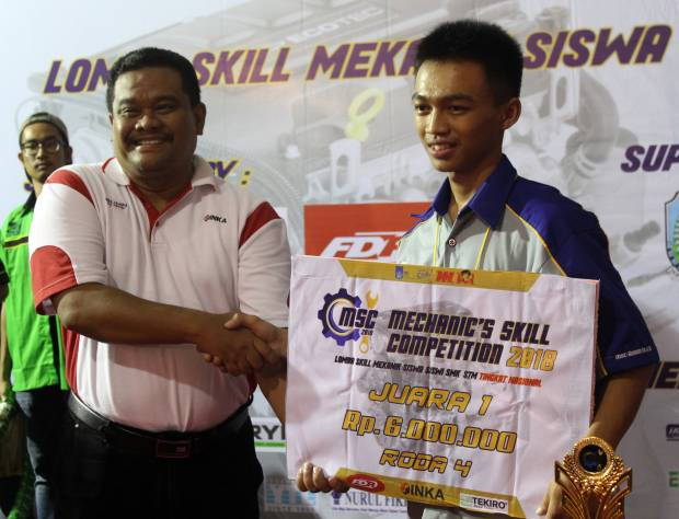 Tekiro Tools Dukung Lomba Mechanic Skill Competition 2018