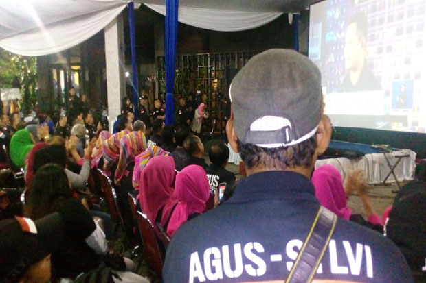 When Incumbent Jakarta Governor Condemned by Agus and Anies