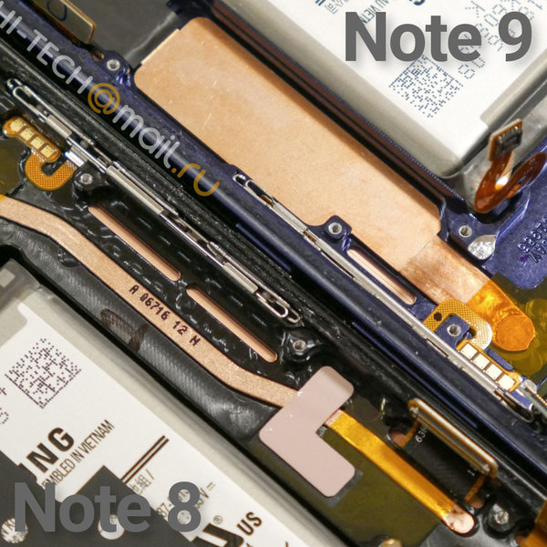 Samsung Galaxy Note 9 Punya Sistem Pendingin Air Sekelas Notebook