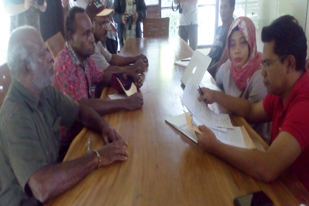 Owners of Papua Ulayat Land Comes to Aidenvironment Asia
