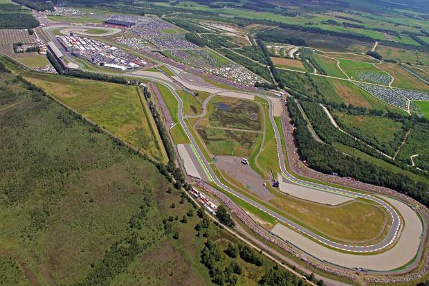 Sirkuit Assen Belanda yang punya julukan The Cathedral of Speed. (Foto-WSBK)