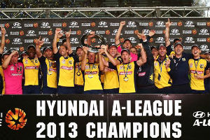 Central Coast Mariners juara A League