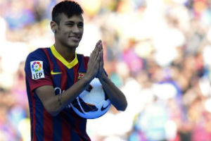 Video Perkenalan Neymar ke fans Barcelona