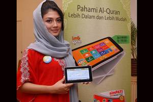Cyrus luncurkan tablet Love Quran Tab 3G TV