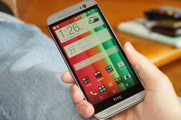 HTC One M8 Android 5.0 Lollipop Gebrak Eropa