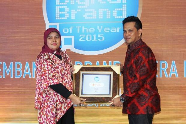 Dompetku Sabet Penghargaan Digital Brand of The Year 2015