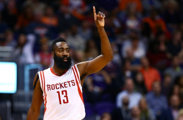 James Harden Bawa Rockets Melesat Lagi