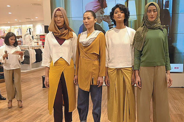 UNIQLO, a new-style Japanese firm making good casual clothes available for all to wear.