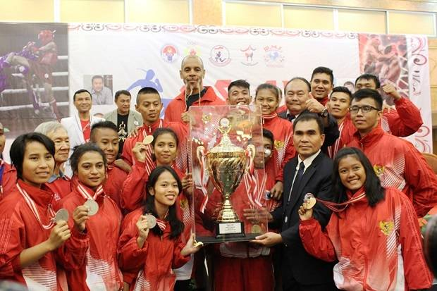 Indonesia Juara Umum Asian Muay Championship 2015