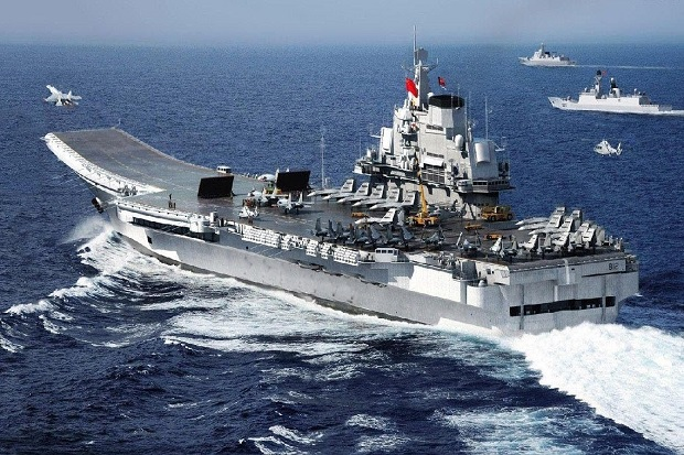 Image result for kapal Liaoning China