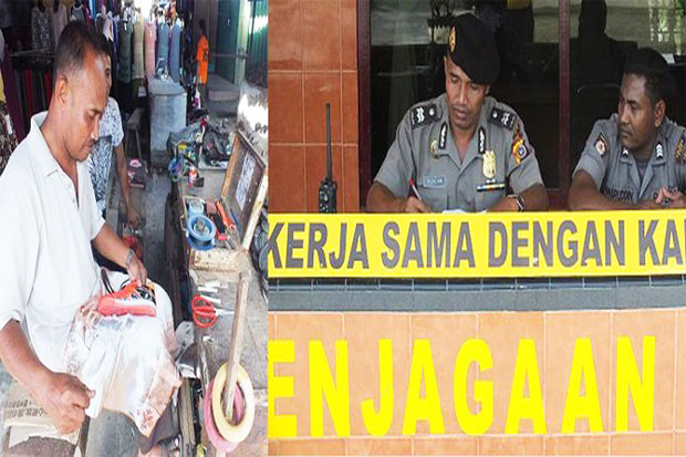 See The Aceh Police Who as Cobbler