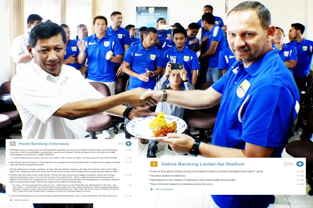Persib Bandung Including 10 of The World Club