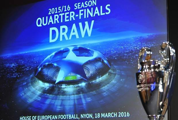 Hasil Drawing Perempat Final Liga Champions 2015 2016